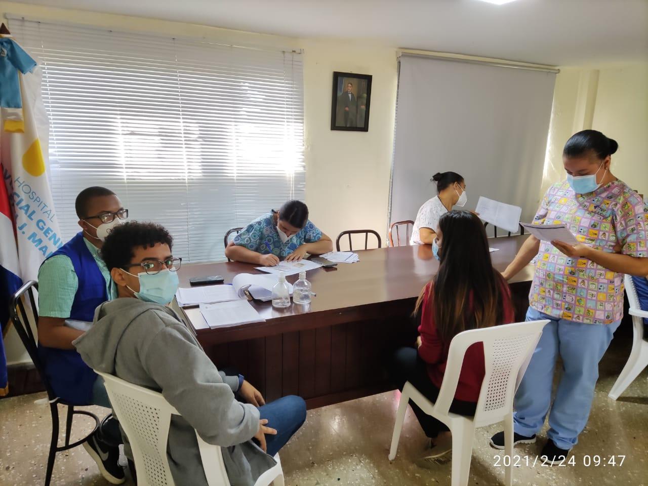 El Hospital Provincial Dr. Rafael J. Mañón inicia la fase 1B de Vacunación contra el Covid-19