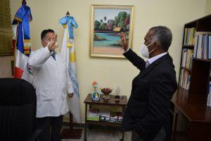 Juramentan al nuevo Director del Hospital Provincial Dr. Rafael J. Mañón.